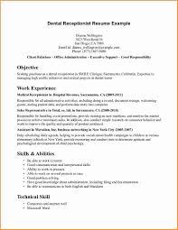 Front Desk Receptionist Resume Front Desk Receptionist Resume