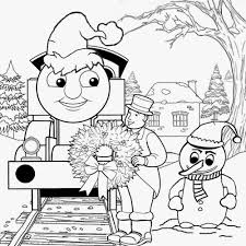 Christmas santa train boys clipart amazing santa train set filled with characters and christmas gifts, ornaments. Christmas Train Clip Art Coloring Page Page 1 Line 17qq Com