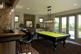 traditional modern pool table lights