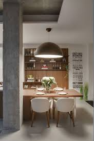 Industrial Style Kitchen Pendant Lights Industrial Chic Apartment In Odessa Embraces Cozy Space Savvy Design