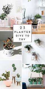 23 unique diy planters ideas for spring summer and beyond through to see