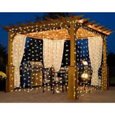 lighting curtains. 10Ft. 300-LED Warm White String Curtain Light Lighting Curtains