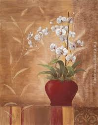 vivian flasch orchid obsession ii art painting