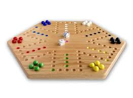 Wooden Game With Marbles AmishMade Board Games Aggravation Chinese Checkers Chess and 11
