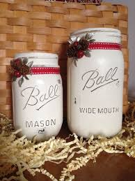 Mason Jar Decorating Ideas For Christmas 60 best Christmas Mason Jars images on Pinterest Christmas jars 49