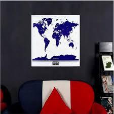 <b>1pc new</b> hot <b>high quality</b> luminous deluxe world map personalized ...