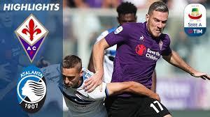 Fiorentina 2-0 Atalanta   Penalty Drama as Fiorentina See Off Atalanta