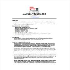 Junior Database Administrator Resume Free PDF