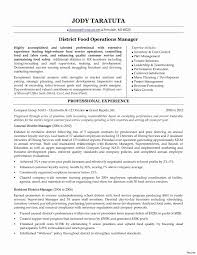 Food Service Manager Resume Template Best of Food And Beverage Resume Template Fresh Food Service Manager Resume