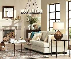 great room chandelier a large chandelier anchors a cozy living room with rustic touches family room great room chandelier