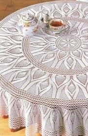 Crochet tabletopper… see pattern Круглая <b>скатерть</b> крючком ...