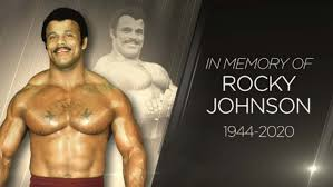 Rocky Johnson, WWE Hall of Famer and Father of The Rock ...