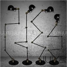 french industrial lighting. Outstanding Best Retro Rh Loft Industrial Style French Horn Five Floor Lamp Within Popular Lighting N