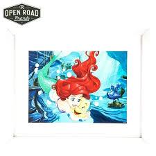 little mermaid wall decor flounder the little mermaid framed gallery wall road brands tree house enterprises