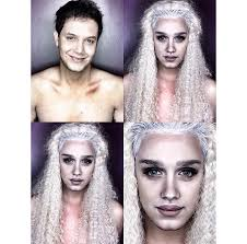 man transforms into female celebrities with amazing makeup skills anese