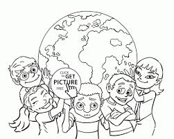 Small Picture Children Of The World In Of The Coloring Pages Es Coloring Pages