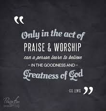 Praise And Worship Quotes Christian