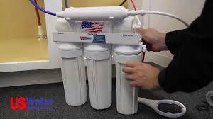 How To Change Reverse Osmosis Filters Reverse Osmosis Installation How To Us Water Systems Youtube