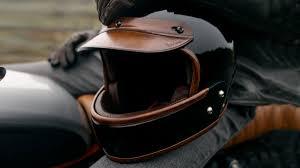 berluti leather motorcycle helmet