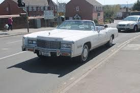 File:1976 Cadillac Eldorado convertible, UK, April 2013 ...