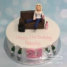 Girls 21st Birthday Cake The Cake Guru