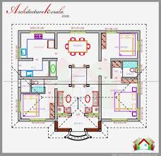 1500 sq ft house plans 4 bedrooms kerala elegant house plans three bedrooms in square feet