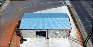 all metal roofing l met roofing a the best option deville express lube l met building