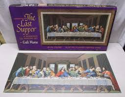 craft master s 1964 last supper m 312a paint by number kit