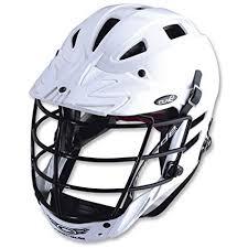 Cascade Clh2 Lacrosse Helmet White Amazon Co Uk Sports