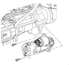 i need to replace the starter in a 2005 chevy impala 4 cyl where 2002 impala ignition switch wiring diagram at 2002 Chevy Impala Starter Wiring Diagram