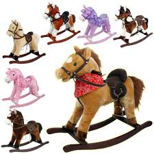 rocking horse kids toy play moving mouth sounds children boys