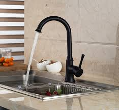 rubbed bronze kitchen faucet houzz interesting bronze kitchen faucet with bronze kitchen faucets for the good look lb modern