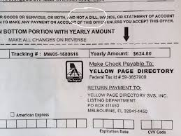 How To Make A Fake Invoice Best Fake Yellow Page Invoices Poole Communications