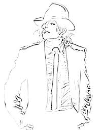 Michael Jackson Coloring Pages To Print Coloring Page Coloring