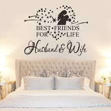 Bedroom Design For Couples Gorgeous Aliexpress Buy Star Heart Hug Couples Vinyl Romantic Wall