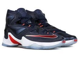 lebron usa shoes. nike lebron xiii sz 11.5 midnight navy blue university red usa 807219 461 | ebay usa shoes