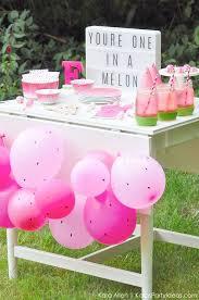 diy girl party ideas. watermelon themed diy birthday party dessert | treat table by michaelsmakers kara\u0027s ideas you diy girl