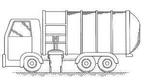 Small Picture Put All Garbage Inside Truck Coloring Pages Download Print