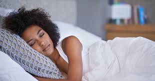 Sleep black girl teen