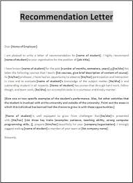 Visa Recommendation Letter Example Rome Fontanacountryinn Com