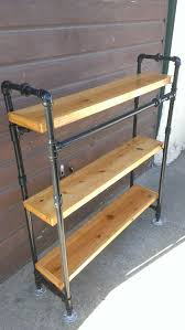 diy pipe shelves industrial shelving and view larger