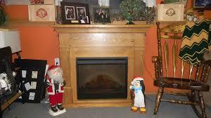 dimplex kenton oak electric fireplace mantel package
