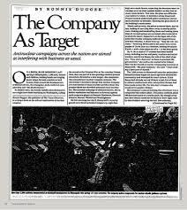 the company as target