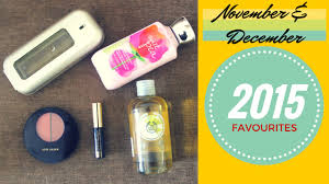 styles november december 2016 favourites makeup skincare perfume haul