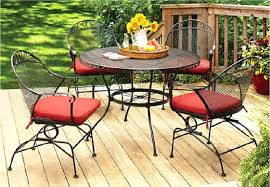 Walmart Porch Furniture Outdoor Patio Furniture Black Steel Walmart