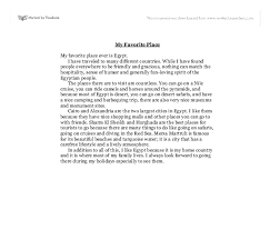 Examples Of Descriptive Essay About A Place Descriptive Essay About A Favorite Place Descriptive My Favorite
