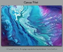 canvas wall art include teal