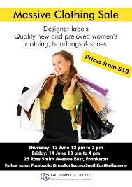 Massive Designer Sale Massive Clothing Sale Dress For Success South East Melbourne