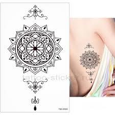 временная татуировка орнамент 33990