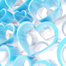 blue heart background. Fine Blue Abstract Love Background Of White And Blue Heart Shapes  Stock Photo  Colourbox In Blue Heart Background A